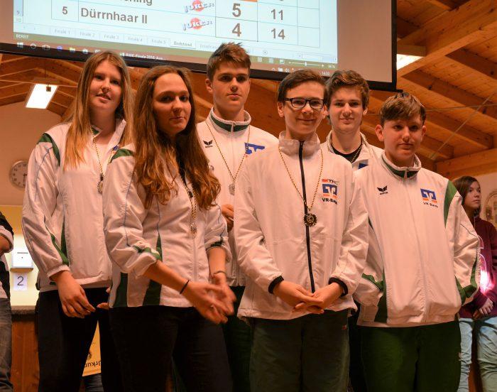 Jugendmannschaft beim Finale 2016